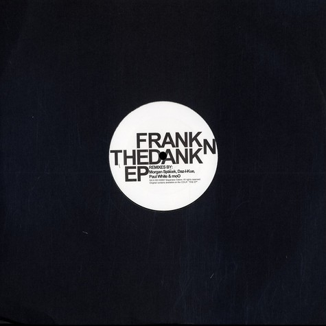 Frank N Dank - The remix EP