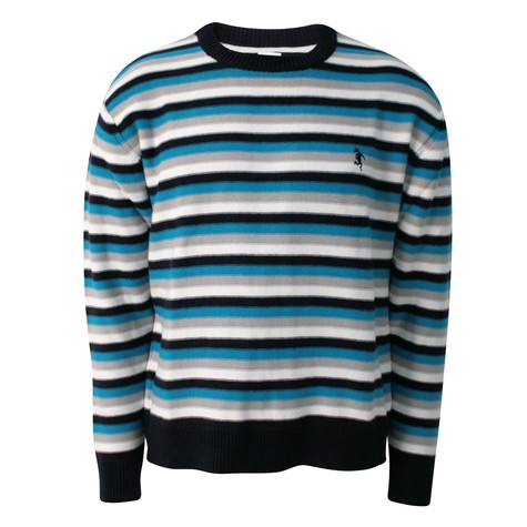 Rockwell - Leftkintted striped pullover