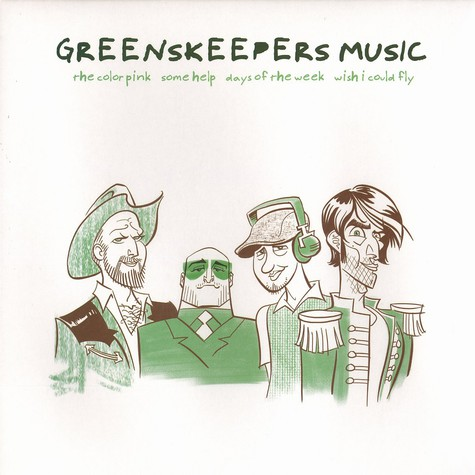 Greenskeepers Music - The color pink