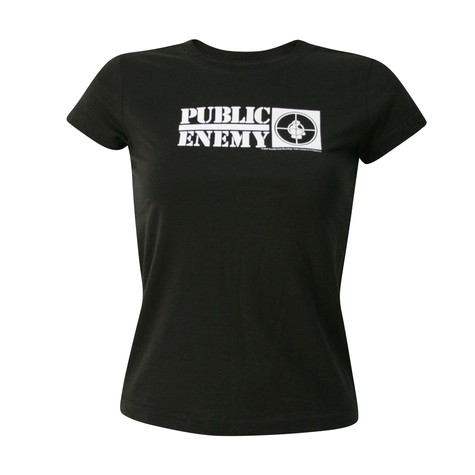 Public Enemy - Logo target Women T-Shirt