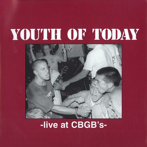 Youth Of Today - Live at CBGB's