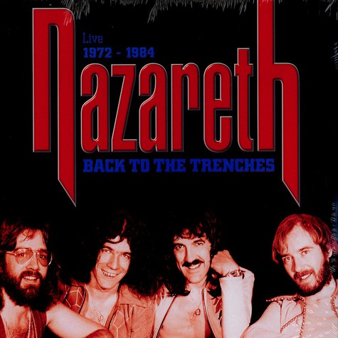 Nazareth - Back to the trenches - live 1972-1984