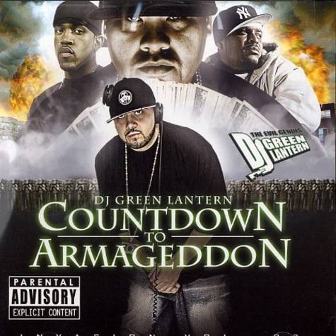 DJ Green Lantern - Countdown to armageddon - invasion volume 3