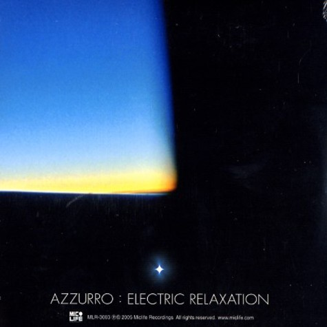 Azzurro - Electric relaxation