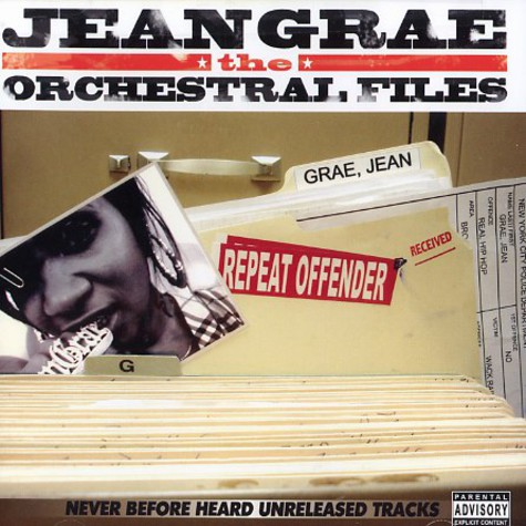 Jean Grae - The orchestral files