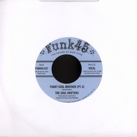 Soul Drifters, The - Funky soul brother