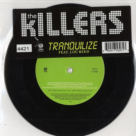 Killers, The - Tranquilize feat. Lou Reed
