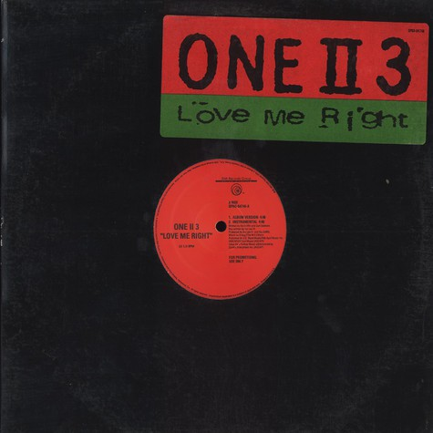 One II 3 - Love me right