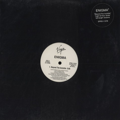 Enigma - Beyond The Invisible / Light Of Your Smile