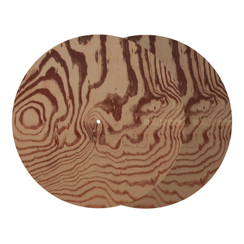 Glowtronics - Wood Grain Non Glow Slipmat