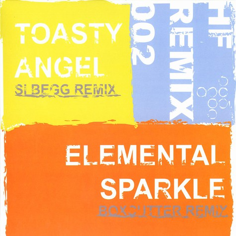 Toasty / Elemental - Angel Si Begg remix / sparkle Boxcutter remix