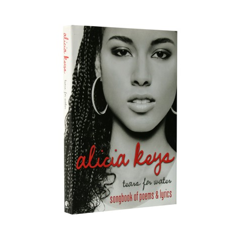 Alicia Keys - Tears for water - songbook of poems & lyrics