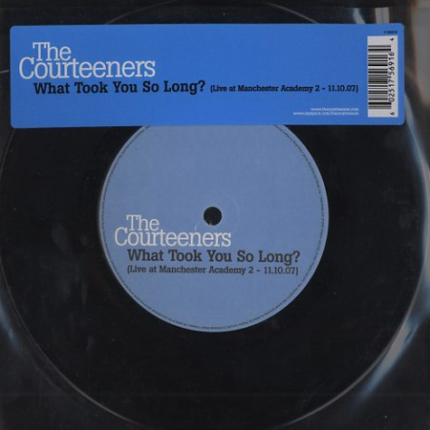 Courteeners, The - What took you so long ? (live at Machester Academy 2)