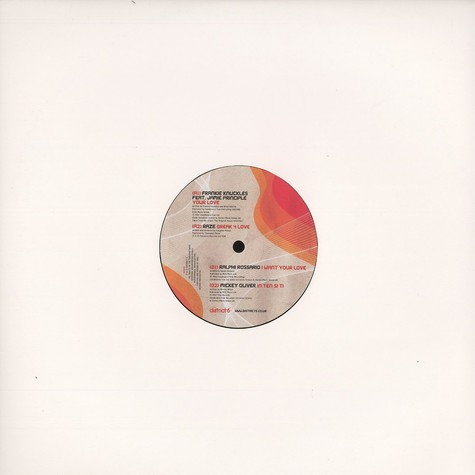 Nicky Holloway & Danny Rampling - 20 years of house sampler 1