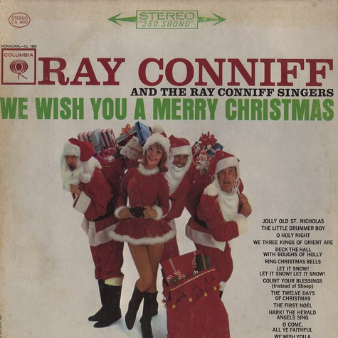 Ray Conniff - We wish a merry christmas