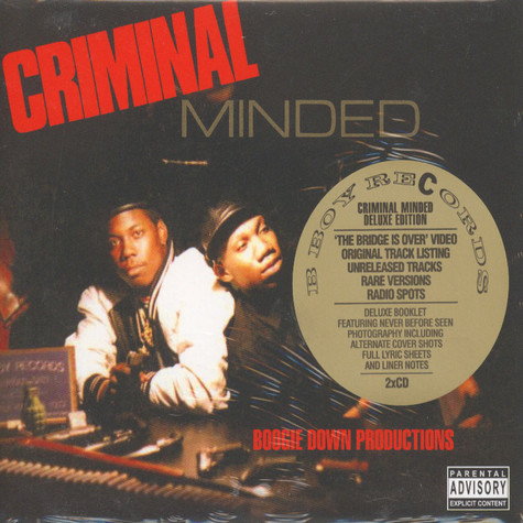 Boogie Down Productions - Criminal minded - deluxe edition