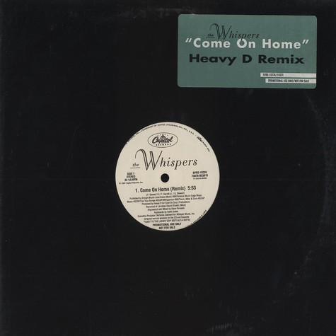 Whispers, The - Come on home Heavy D Remix
