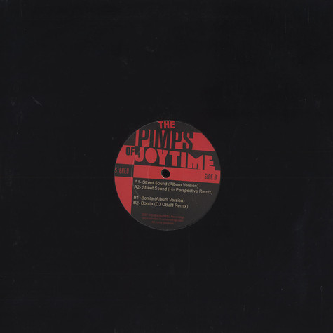 Pimps Of Joytime, The - Street Sound
