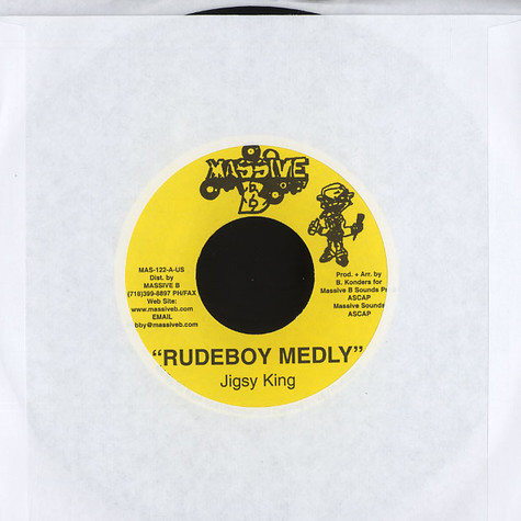 Jigsy King - Rudeboy medley