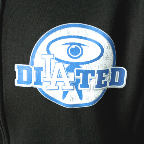 Dilated Peoples - LA blue print zip-up hoodie