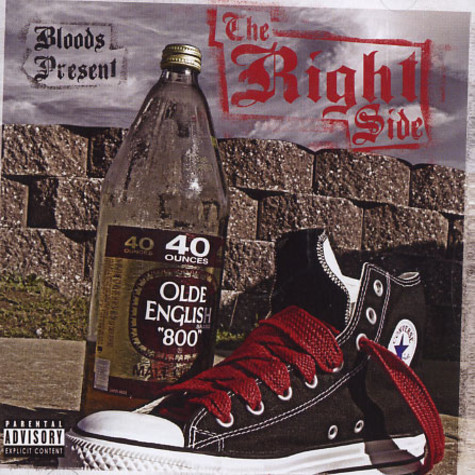 Bloods present - The right side