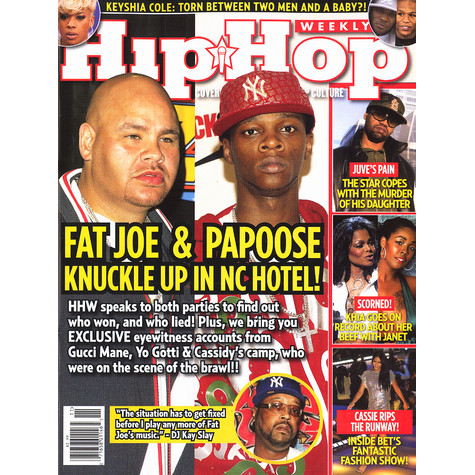 Hip Hop Weekly - 2008 - Volume 3 - Issue 6