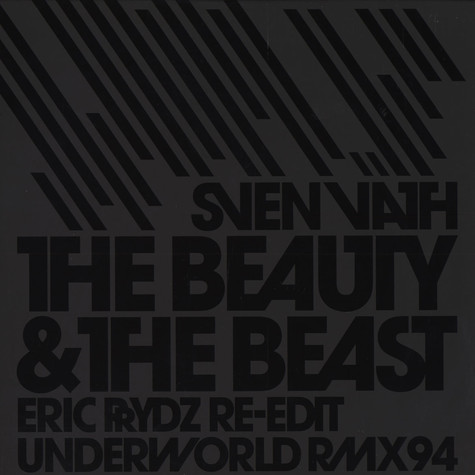 Sven Väth - The beauty and the beast