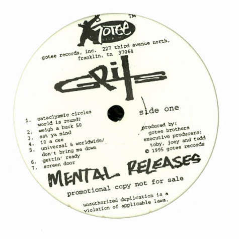 Grits - Mental releases