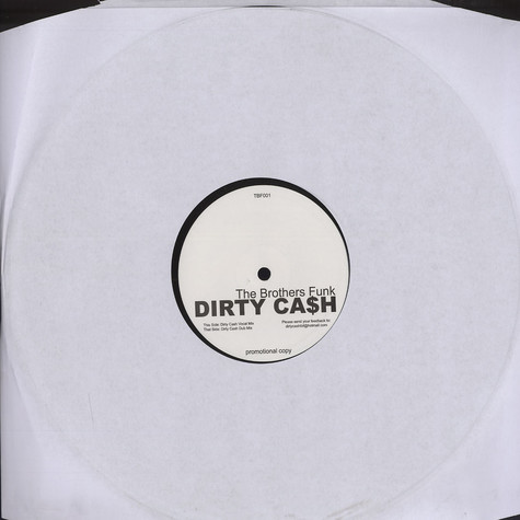 Brothers Funk - Dirty cash
