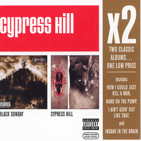 Cypress Hill - X2: black sunday / Cypress Hill