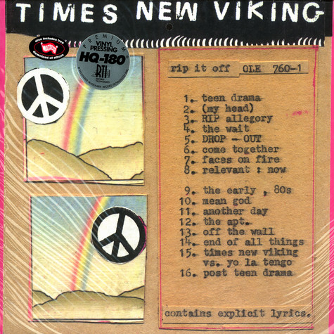 Times New Viking - Rip it off