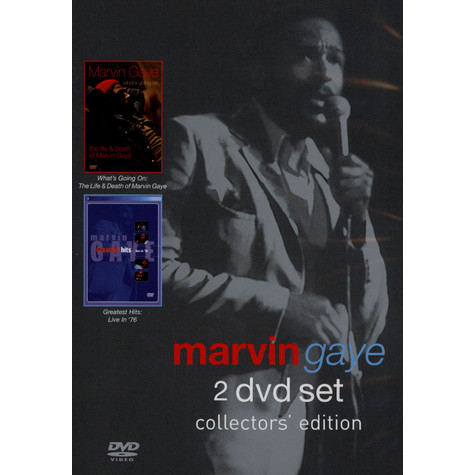 Marvin Gaye - What's going on: the life & death of Marvin Gaye / greatest hits: live in 76