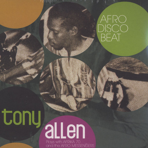 Tony Allen plays with Afrika 70 & The Afro Messengers - Afro Disco Beat