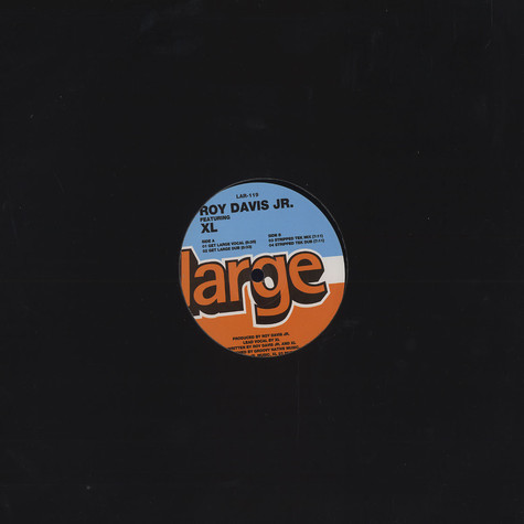 Roy Davis Jr. - Get large feat. XL