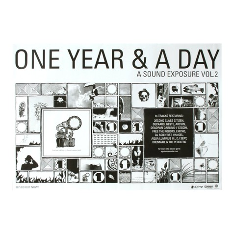 Equinox presents - One Year & A Day - A sound exposure volume 2 poster