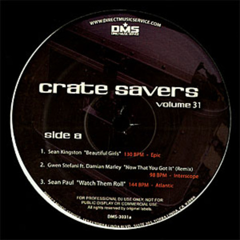 Crate Savers - Volume 31