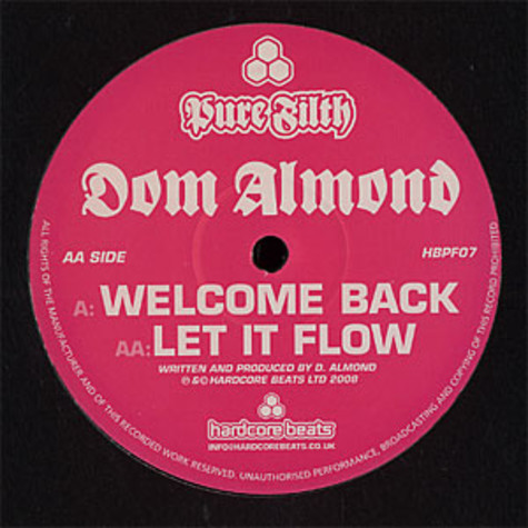 Dom Almond - Welcome back