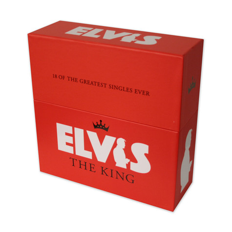 Elvis Presley - 18 of the greatest singles ever - box set