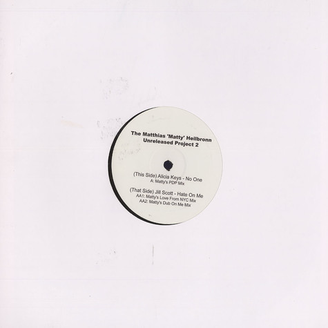 Alicia Keys / Jill Scott - No one / hate on me Matthias Heilbronn remixes