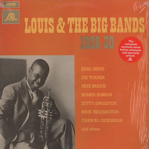 Louis Armstrong - Louis & the big band 1928-1930