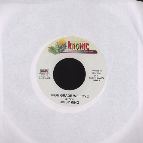 Jigsy King / Satellite - High grade we love / sound keep them talking