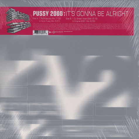 Pussy 2000 - It's Gonna Be Alright