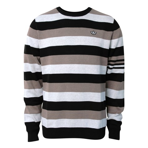 adidas - L-Stripe knit sweater