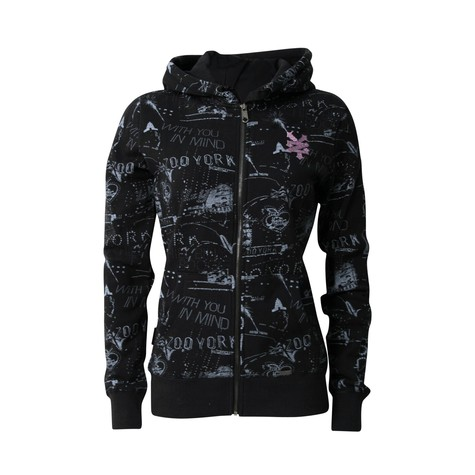 Zoo York - Lights & lace Women zip up-hoodie
