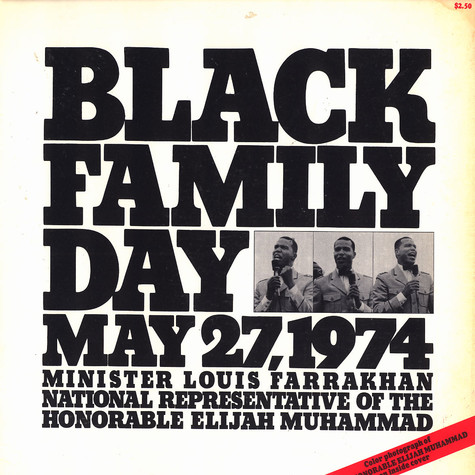 Minister Louis Farrakhan - Black family day