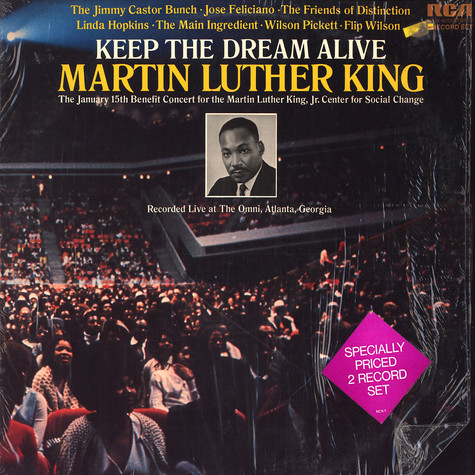 V.A. - Keep The Dream Alive; Martin Luther King