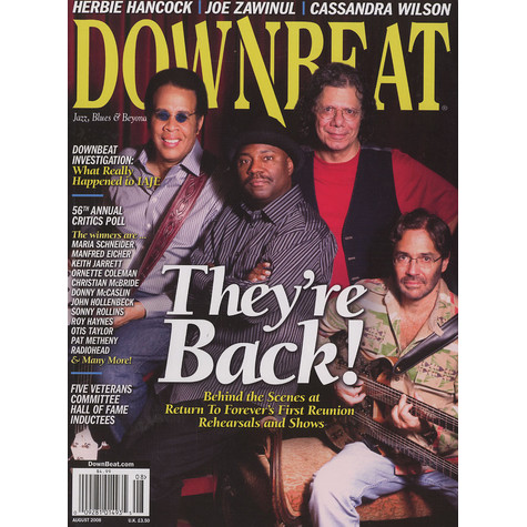 Downbeat Magazine - 2008 - 08 - August