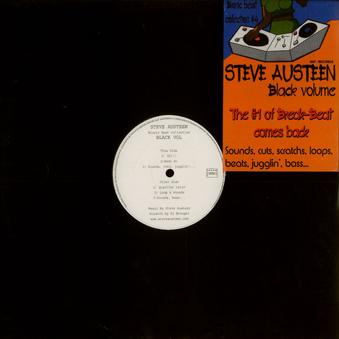 Steve Austeen - Bionic beat collection Black Volume