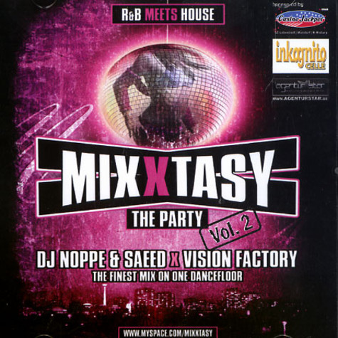 DJ Noppe & Saeed X Vision Factory - MixXtasy - The party volume 2