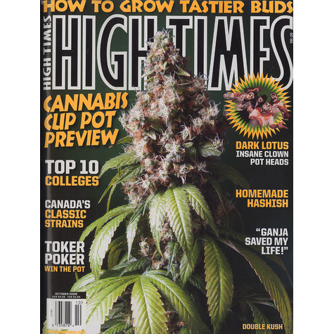 High Times Magazine - 2008 - 10 - October